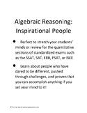 Inspirational People: Quantitative Reasoning Prep for SSAT, ERB, PSAT, SAT, ISEE