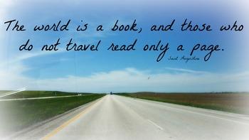 Reading/ travel Inspirational Poster