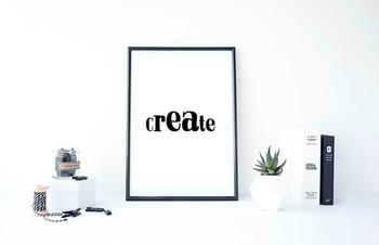 "Inspirational Poster ""Create"" -Isaiah-"