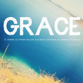 Inspirational Poster, Grace