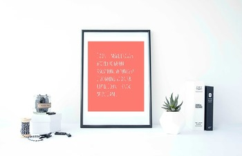 """Inspirational Poster, """"I don't make enough money to go on vacation,"""""""