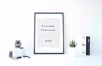 Inspirational Poster, I have given up reading books; I fin