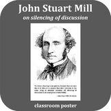 Inspirational Poster: John Stuart Mill - Silencing of Discussion