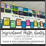 Growth Mindset: Inspirational Poster Quotes-Students Desig