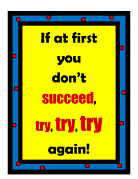 Inspirational Poster Set