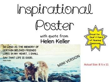 Deaf Inspirational Poster