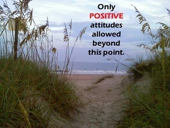Inspirational Posters - Beach Theme