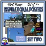 Inspirational Posters - Bird Theme Set 2