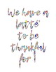 Inspirational Posters Cursive Colourful!