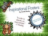 Inspirational Posters--Jungle Theme