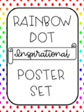 Inspirational Posters; Rainbow Dot Theme