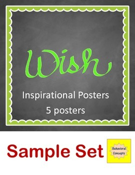 Inspirational Posters - Sample