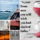 Inspirational Posters To Motivate High School Students & A