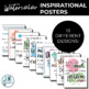 Inspirational Posters for Classroom Decor {Watercolor}