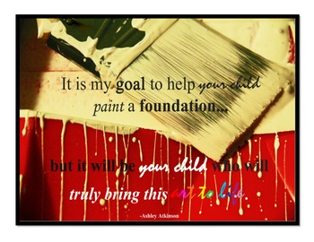 Inspirational Posters for Teachers- Building a Foundation