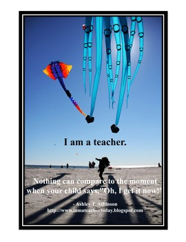 Inspirational Posters for Teachers- That Ah-Ha Moment
