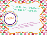 Inspirational Posters for the Classroom SAMPLE
