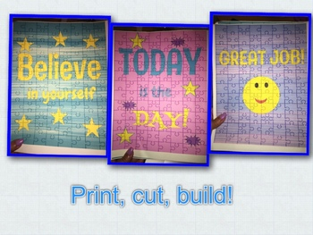 Inspirational Puzzles for Kids!