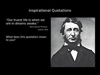 100 Inspirational Quotations