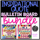 Inspirational Quote Bulletin Board Bundle