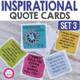 Inspirational Quote Cards Set 3