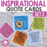 Inspirational Quote Cards Set 2