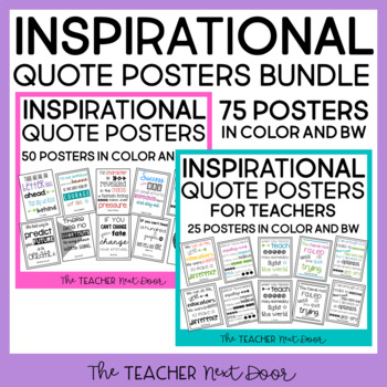 Inspirational Quote Posters Bundle