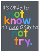Inspirational Quote Posters - Chalkboard
