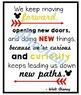 Inspirational Quote Posters- Walt Disney