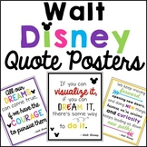 Inspirational Quote Posters- Walt Disney