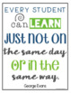 Inspirational Quote Posters for Teachers
