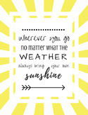 Inspirational Quote | Teacher School Counselor Saying | Classroom Decor Poster