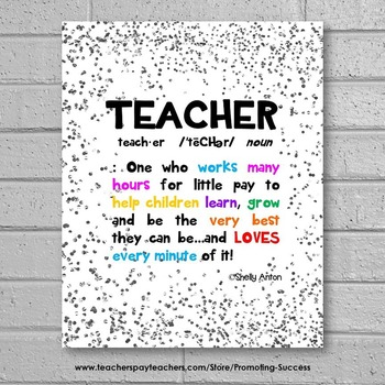 End of the Year Teacher Thank you Appreciation Week Gift Ideas