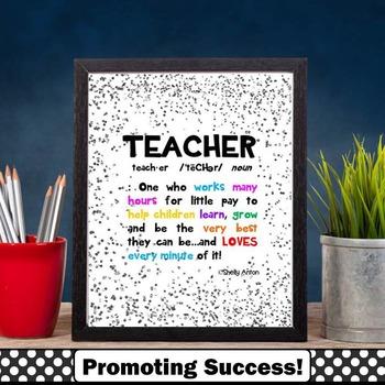 What is a Teacher? Teacher Appreciation Week Definition Qu