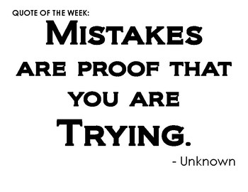 """Inspirational """"Quote of the Week"""" for Kids"""