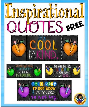 Inspirational Quotes~ Apples