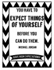 Inspirational Quotes-Black and White