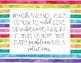 Inspirational Quotes Classroom Decor