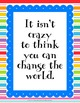 Growth Mindset Posters - Train the Brain with Inspiring Discussions!! Set 2