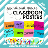 Inspirational Quotes Classroom Posters