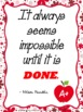 Inspirational Quotes for Back to School Bulletin Boards or Motivational Posters