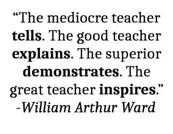 Inspirational Quotes - For Teachers