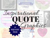 Inspirational Quotes Graphics