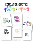 Inspirational Quotes Kindness Teacher Appreciation Shout Out Morale Boosters