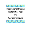 Inspirational Quotes Mini-Pack 1: Perseverance