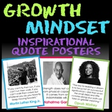 Inspirational Quotes Poster: Growth Mindset