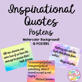 Inspirational Quotes Posters-GROWING BUNDLE