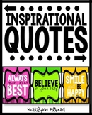 Inspirational Quotes Posters Set