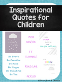 Inspirational Quotes Posters for Children