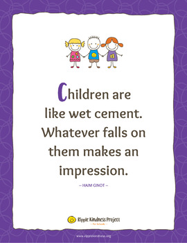 Inspirational Quotes Posters for Teachers & Parents - A4 Format